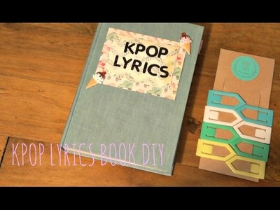 DIY KPOP LYRICS BOOK