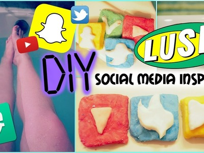 DIY LUSH: SOCIAL MEDIA INSPIRED! Bath Bombs, Bubble Bars, lip Scrub