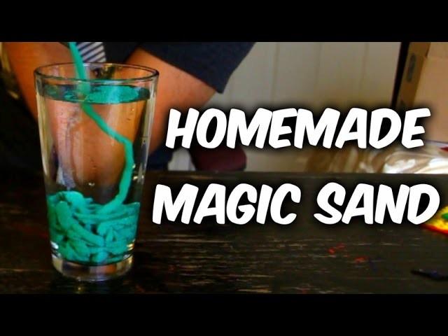 DIY Magic Sand