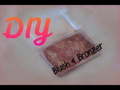DIY Marbleized Cream Blush & Bronzer Duo -HowToByJordan