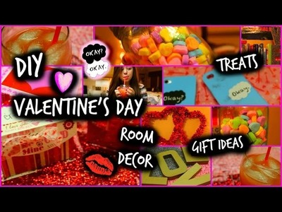 DIY Valentine's Day Treats, Room Decor, & Gift Ideas!!! | CartneyBreanne