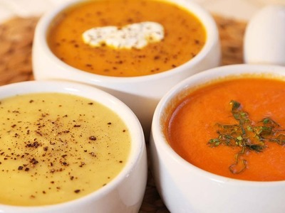 Fall Soup - 3 Delicious Ways