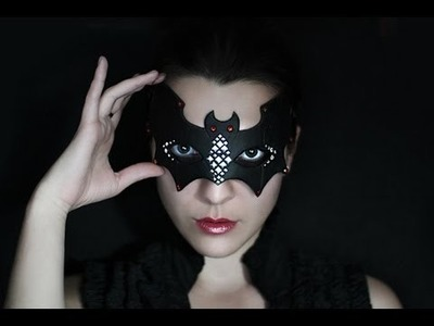 Halloween Bat mask tutorial by Aniko