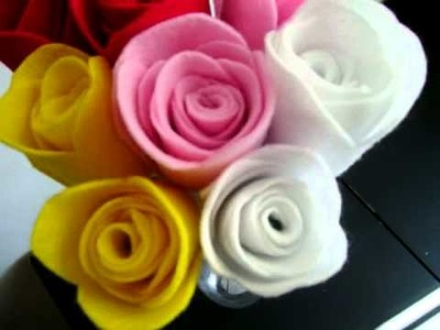 HandMade fabric flowers for sell. . . ARTFIRE