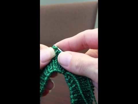 HiyaHiya Grandma's Stretchy Bind Off for K1, P1 ribbing cuff