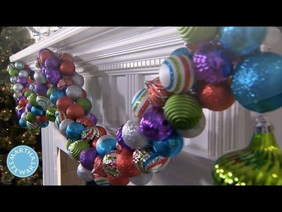 Holiday DIY: Colorful Ornament Garland - Martha Stewart