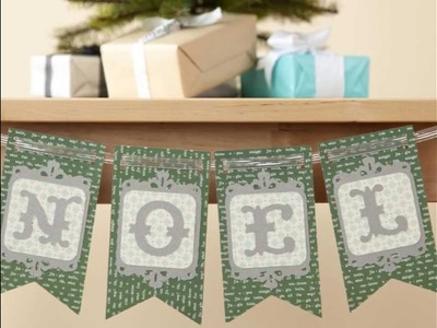Home for Holidays Fall Winter New Cricut Cartridge