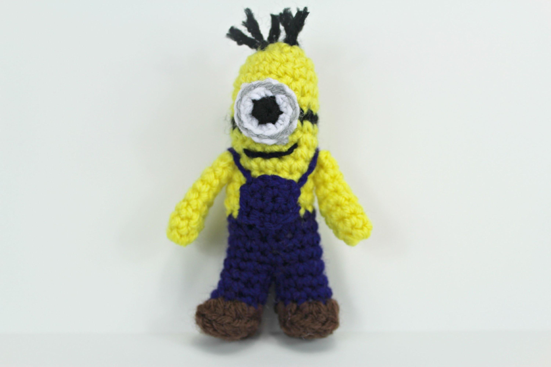 How to crochet a Mini-Minion inspired by amigurumi (Video 1) - Yolanda Soto Lopez