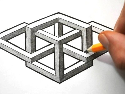 How to Draw a Complex Impossible Shape