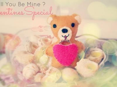How To Make A Kawaii Valentine's Bear Plush Tutorial