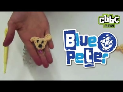 How to make loom band charms - make Blue Peter's Iggy!