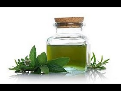 How to Make Peppermint Oil easy and fast.  DIY
