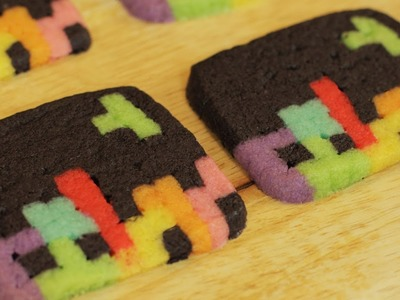 HOW TO MAKE TETRIS COOKIES - NERDY NUMMIES