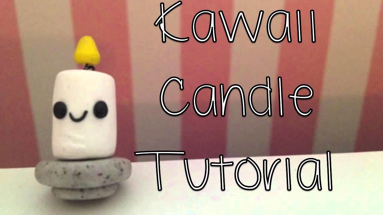 Kawaii Candle Tutorial!