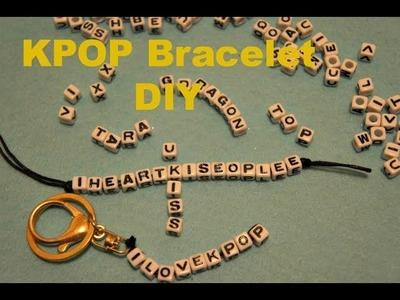 Kpop Bracelets DIY