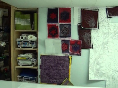 Leah Day's Quilting Studio Tour
