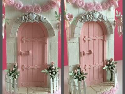 Magical Fairy Door~A Shabby Chic Christmas Project