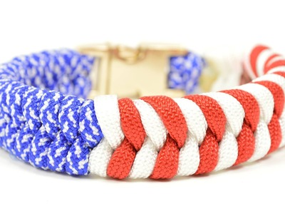 Make a Patriotic Paracord Survival Bracelet - BoredParacord.com