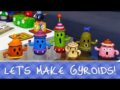 Make your own Gyroids from Animal Crossing!