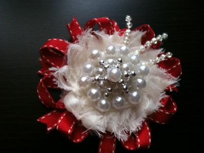 Making of Boutique like Hair accessories.