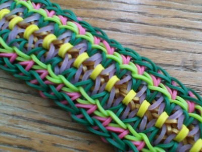 NEW Rainbow Loom Lana Bracelet