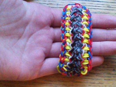 NEW Rainbow Loom Waldorf Bracelet