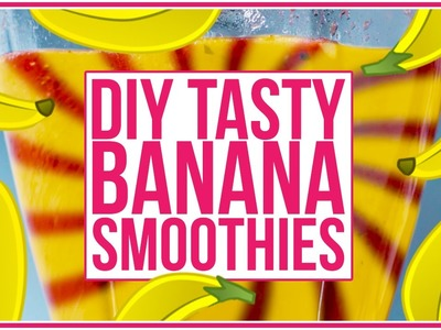 Perfect DIY Banana Smoothie Recipe