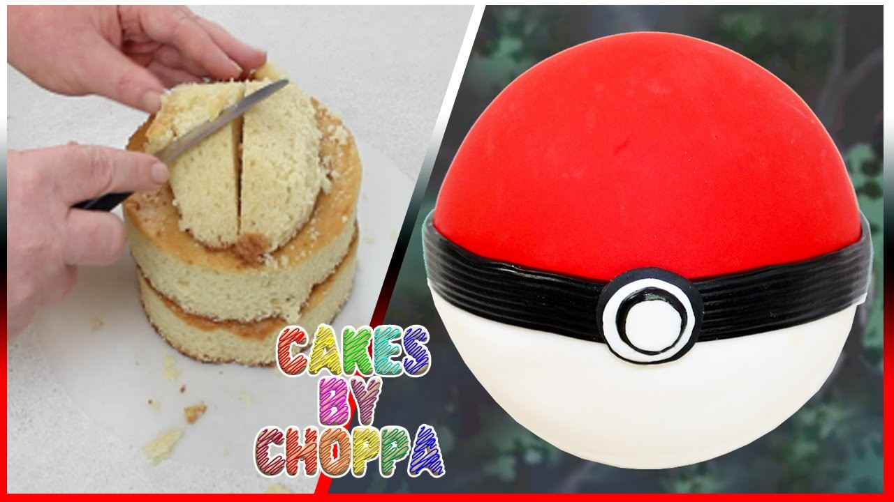 Poké Ball Cake | Pokémon (How To)