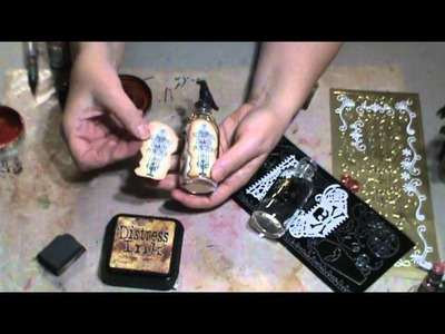 Pretty Potions & Poisons Apothecary Event Tutorial #2 - Altering Bottles & Tins (Part One of Two)