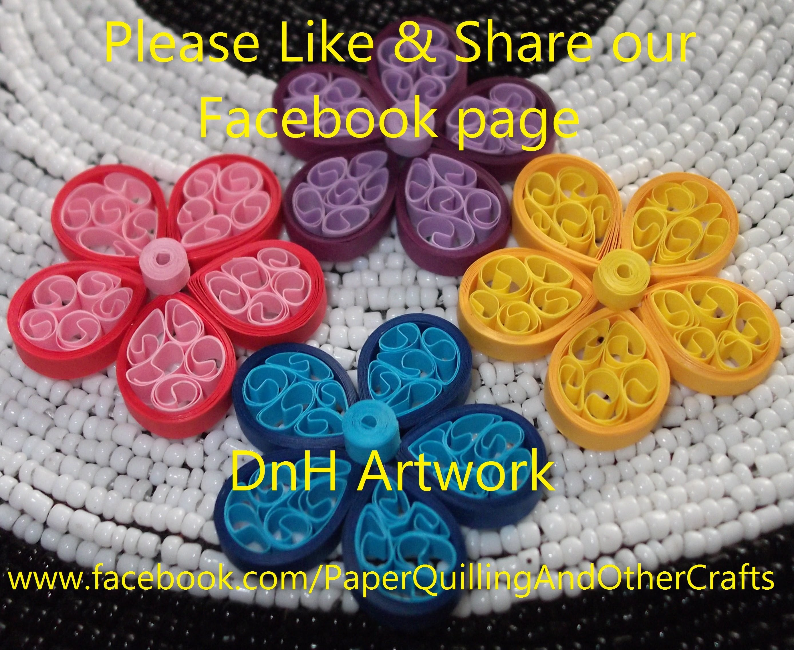 Quilling Beehive Flower - Tutorial