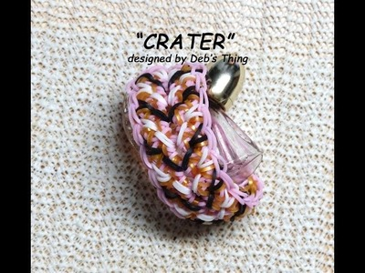 "Rainbow Loom Bracelet - Original Design - ""CRATER"" (5y)"