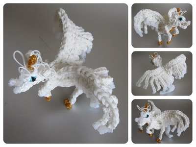 Rainbow Loom horse unicorn pegasus alicorn Part 1.2 Loombicious