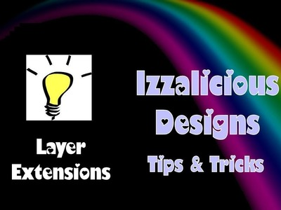 Rainbow Loom - Layer Extension Tips & Tricks - explaining up close and personal
