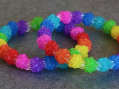 Rainbow Loom™ MonsterTail™ Gumdrop II Bracelet Tutorial