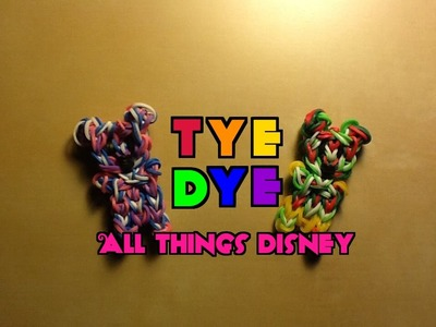 Rainbow Loom Tie Dye Charm.Figure Technique: Use for Any Charm!