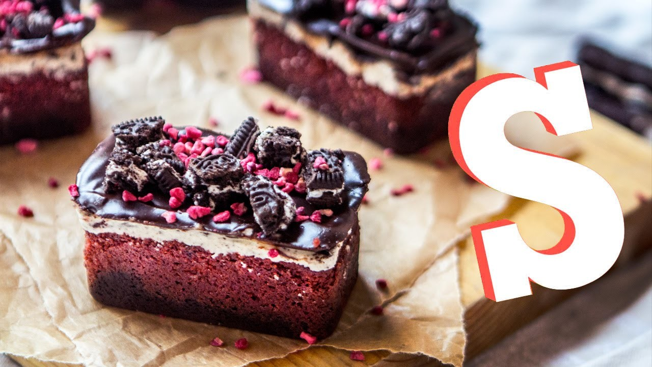 Red Velvet, Oreo, Brownie Bars Recipe