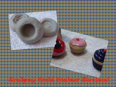 "Sculpey ""Mold Maker"" Tutorial & Review! (Cupcake Mold)"