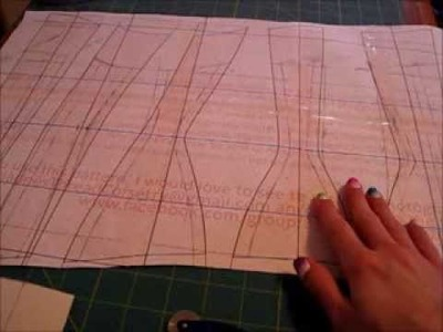 Sew Along With Me Series - Corset Patterning