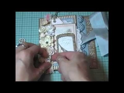 Shabby Chic Card & Gift Box (start to finish)