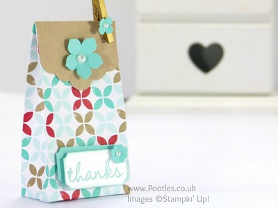 Stampin' Up! UK Fresh Prints DSP Bag Regional Swaps Tutorial