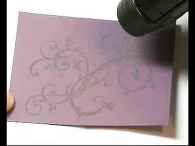 STAMPING- Embossing Card