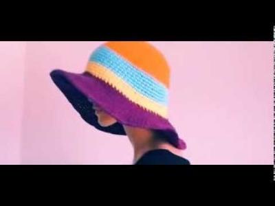 Summer Project 2: Large Brimmed Cotton Sun Hat