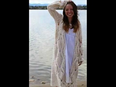 The Pinapple Robe Pattern - A Quick Summer Crochet Pattern Presentation
