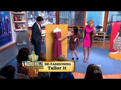 Trash to Treasure: 'Re-Fashion Your Clothes'