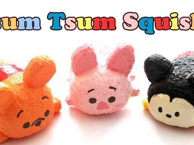 Tsum Tsum Pooh Homemade Squishy Tutorial