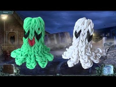Tuto Rainbow Loom ghost. fantôme 3D ( By Raya )