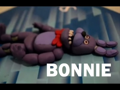 TUTORIAL- BONNIE FIVE NIGHTS AT FREDDY´S DE PLASTLINA O PLASTICINE