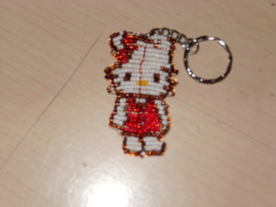 Tutorial Hello  Kitty hecha en chaquira 1 de 4.