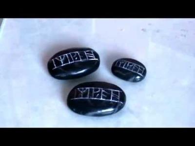 """TUTORIAL: Kili's Rune Stone From """"The Hobbit"""""""