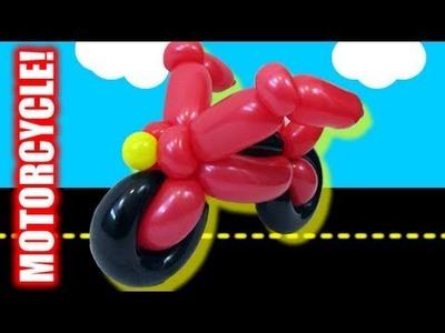 Tutorial Tuesday - Motorcycle Balloon Animal!